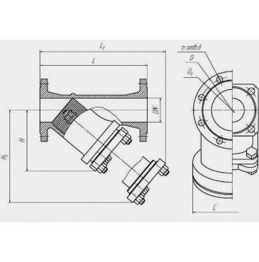 Фильтр ФМФ магнитно-механический фланцевый