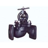 Клапан запорный проходной фланцевый 15кч16п, 15кч16нж