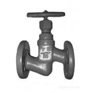 Клапан (вентиль) запорный, сальниковый, фланцевый 15с51п