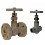 Клапан (вентиль) запорный проходной 15с57нж